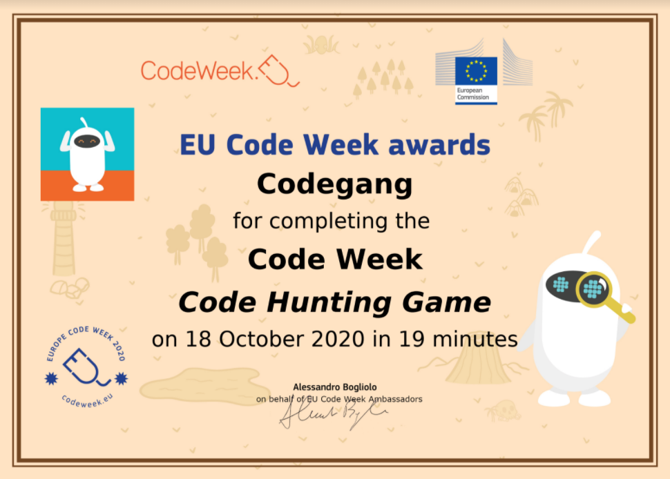 Code Hunting Game